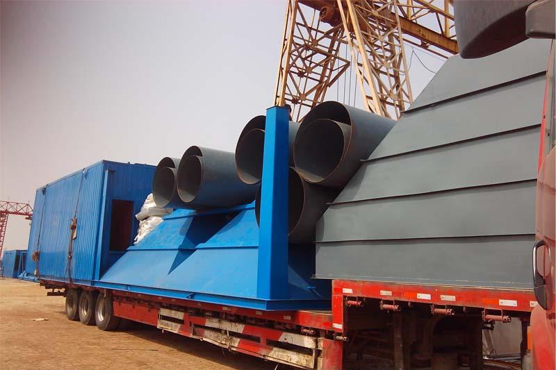 河南的热钢管处理厂的赵经理您好,您订购的450平脉冲布袋除尘器已给您发货,请注意查收!