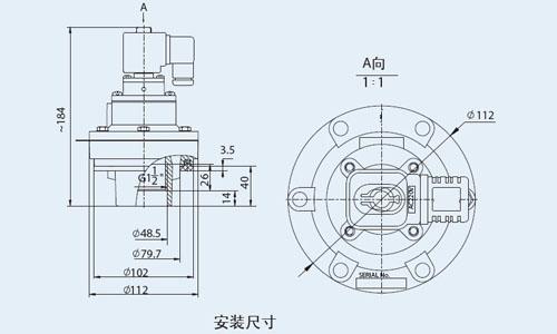 电磁脉冲阀安装尺寸